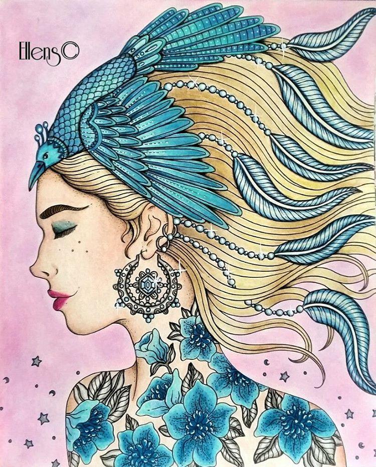 Pin de Andreilla Salazar en Oleos | Pinterest | Libros para colorear ...