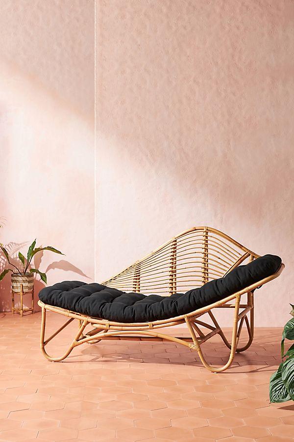 Positano Rattan Indoor Outdoor Chaise Lounge Indoor Outdoor