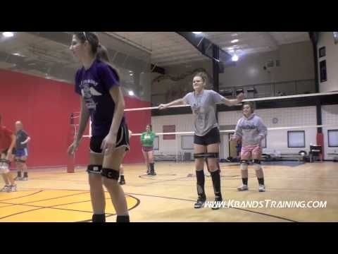 Volleyball Training Increase Vertical Jump I Like It But Do I Really Need Those Leg Bands Jogadoras De Volei Volei Treino