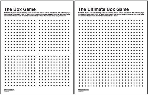 The Box Game Printable Supermom, Gaming and Box
