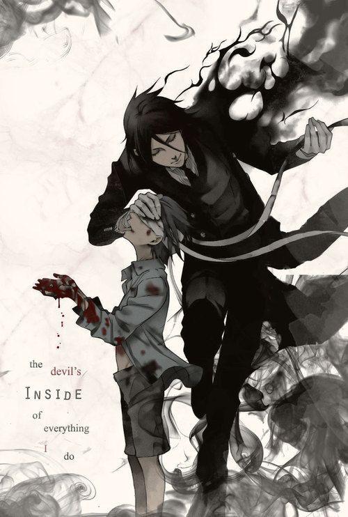 Ciel And Sebastian From Kuroshitsuji Quote Yaoi