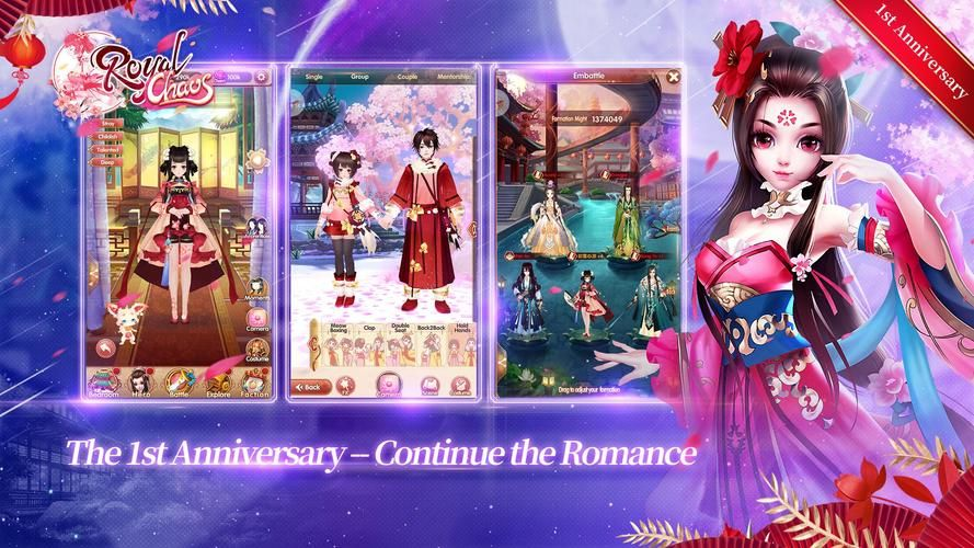 Royal ChaosEnter A Dreamlike Kingdom of Romance for