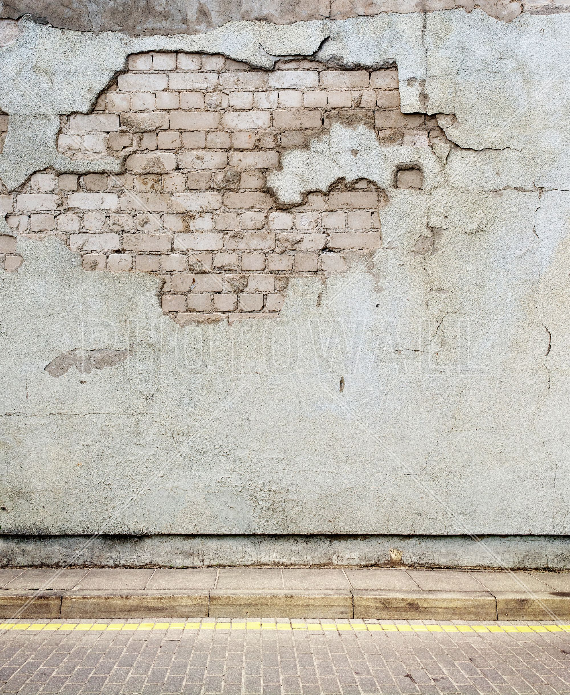 Aged Street Wall Wall Mural Walls N All Pinterest