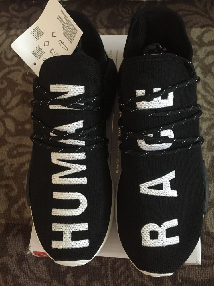 d1e9bf25a06 Adidas X Pharrell William human race HU core black size 10  fashion   clothing  shoes  accessories  mensshoes  athleticshoes (ebay link)