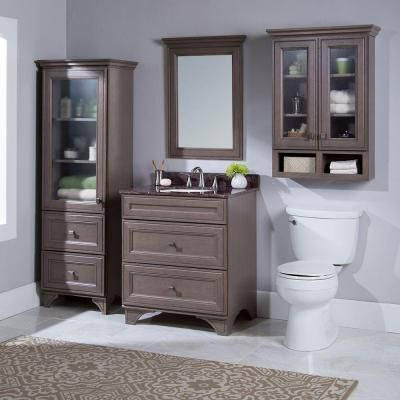 Home Decorators Collection Albright 30 in  Vanity Cabinet Only in Winter  GrayHome Decorators Collection Albright 30 in  Vanity Cabinet Only in  . Home Decorators Collection Bathroom Furniture. Home Design Ideas