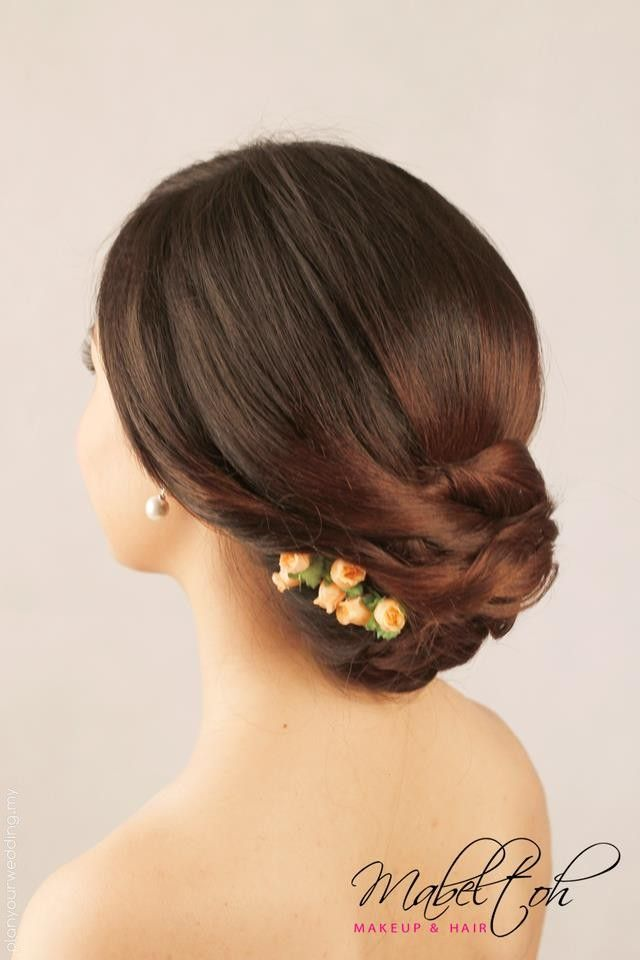 Chinese Modern Not Applicable Hair Stylist Classy Bridal Hairstyle 48838