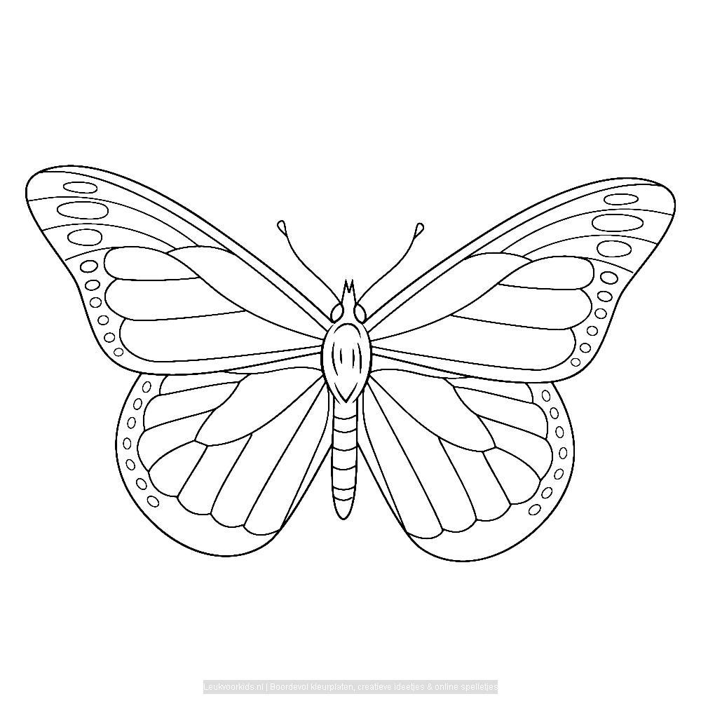 Bekijk Vlinders 0031 Kleurplaat Vlinder Tekening Vlinder Kunst Bloemen Tekenen