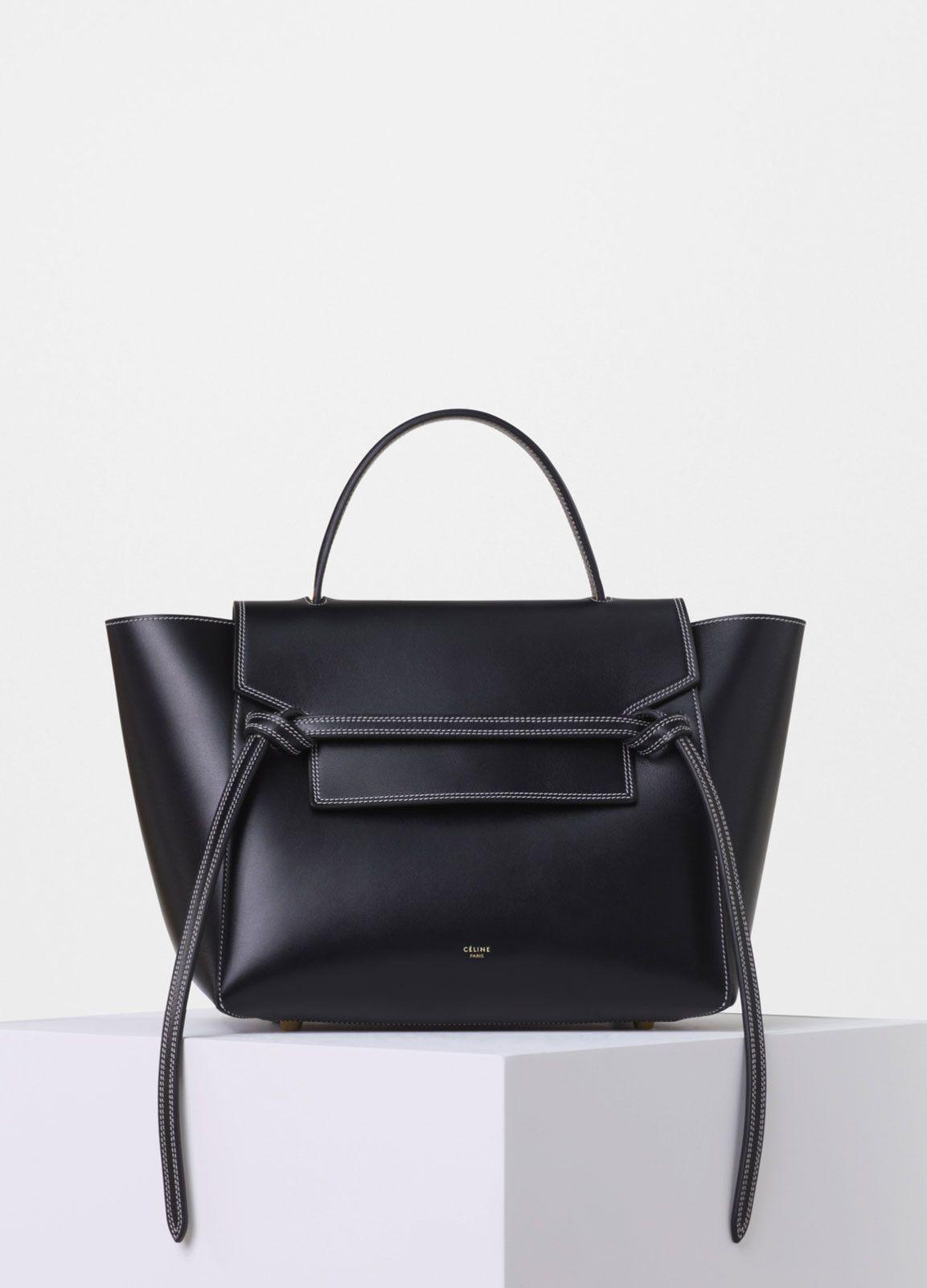75fbfc9f45 Mini Belt Bag in Double Stitching Calfskin - Céline