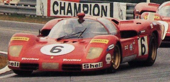 512s Coda Lunga Le Mans 1970 Giunti Vaccarella With Images