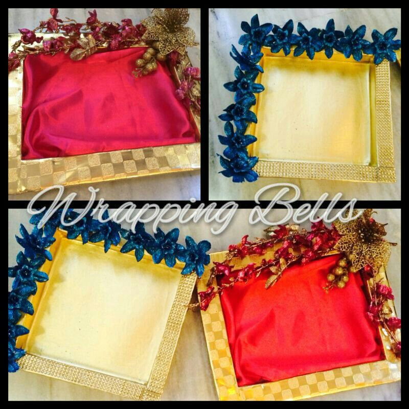 Wedding Tray Decoration Prepossessing Wedding Season Nearinglooking For Trays  To Order Inquire Decorating Design