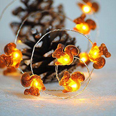 Christmas Lights, Impress Life Squirrel Decorative