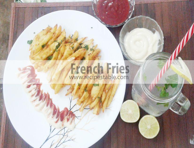 #French_Fries #Recipe  #RamadanRecipes