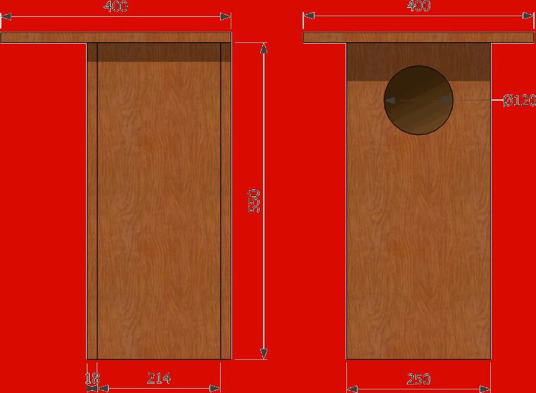 plan d 39 un nichoir pour chouette hulotte nichoirs pour chouettes et hiboux owls boxes. Black Bedroom Furniture Sets. Home Design Ideas