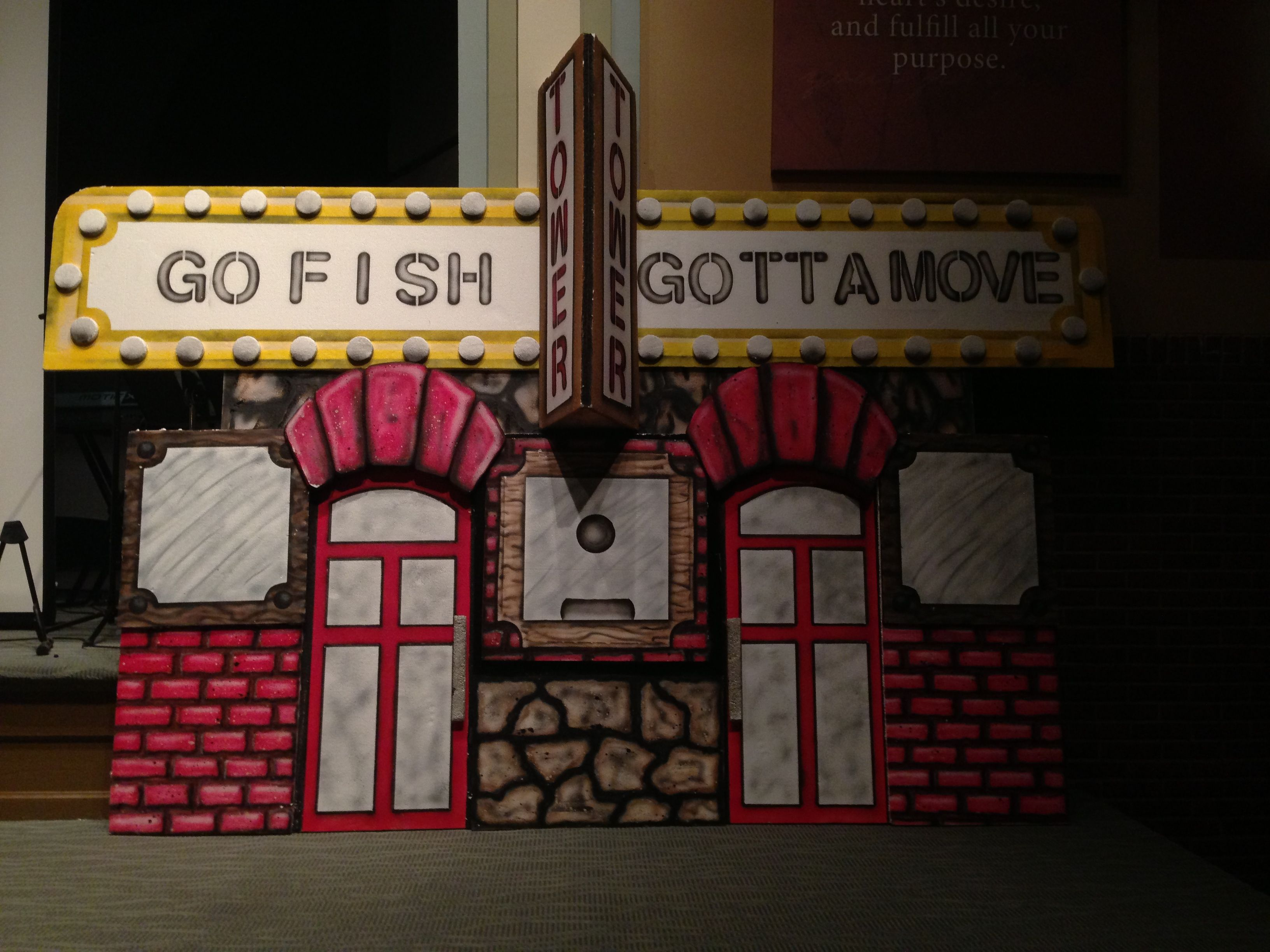 Go Fish Guys Decor For Vbs Kids Church Going Fishing Vacation