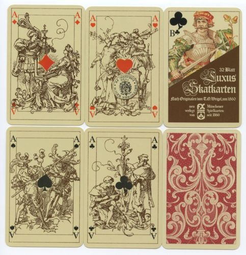 Dutch Deck From Original T.O. Weigel Playing Cards In