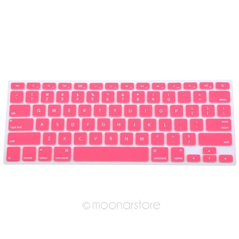 Computer Keyboard Protective Covevring Silicone Keyboard Skin Cover For Apple Macbook Pro MAC 13 15 17 Air 13