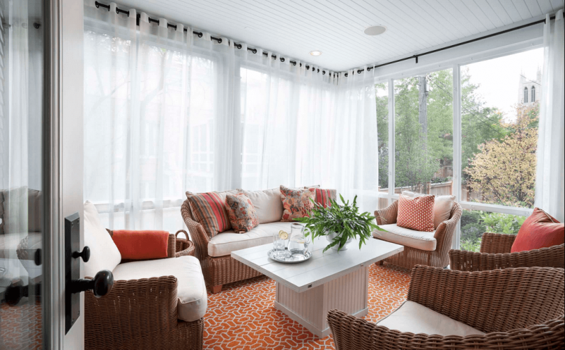 Sheer White Curtains ~ http://qo-home.com/how-to-make-my-windows-become-interesting/