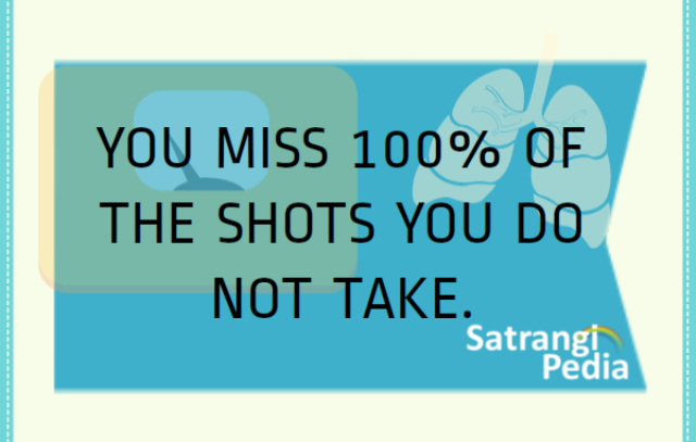 You miss shots