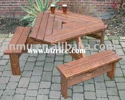 Amazing Outdoor Wooden Folding Picnic Table Front Porch Triangular Ibusinesslaw Wood Chair Design Ideas Ibusinesslaworg