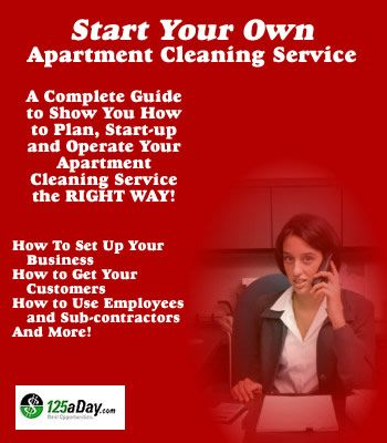 How To Start Your Own House and Apartment Cleaning Service ...