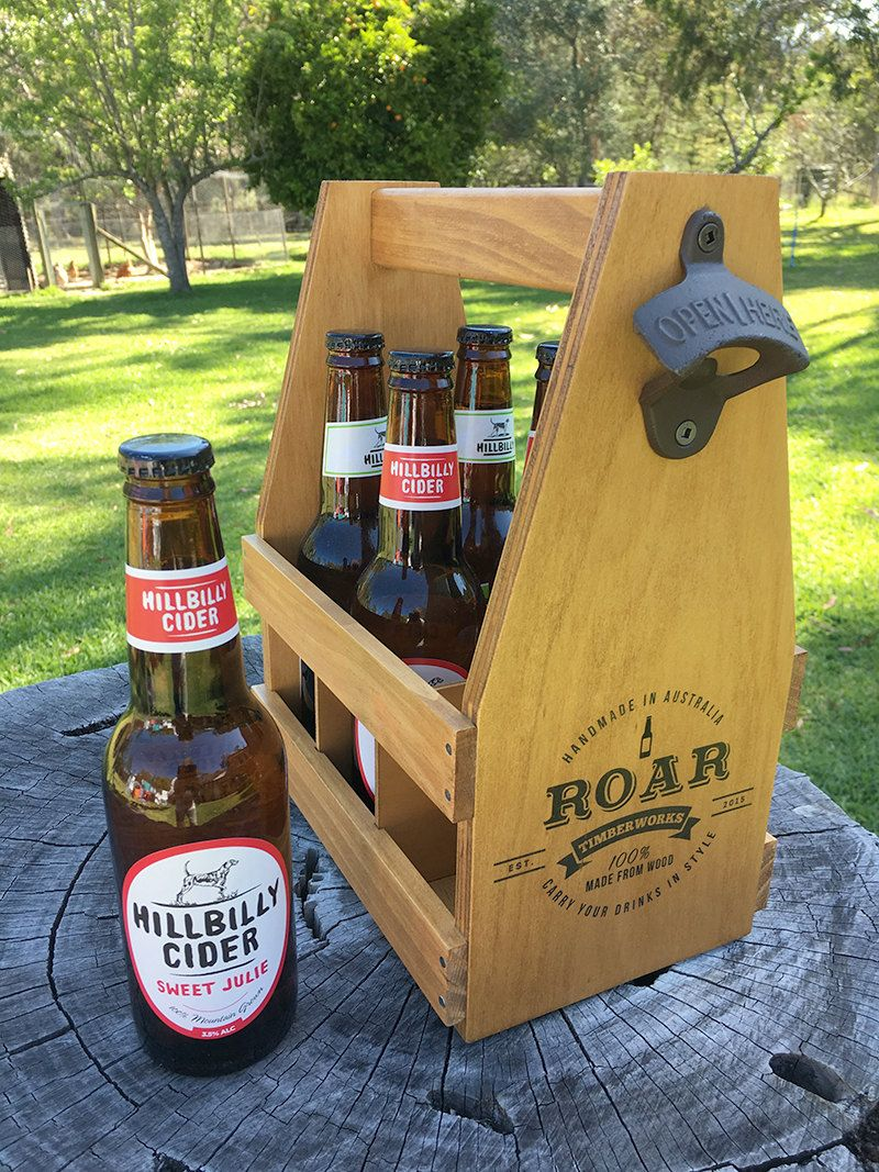 craft beer gifts gift for wood caddy 6 pack 1410