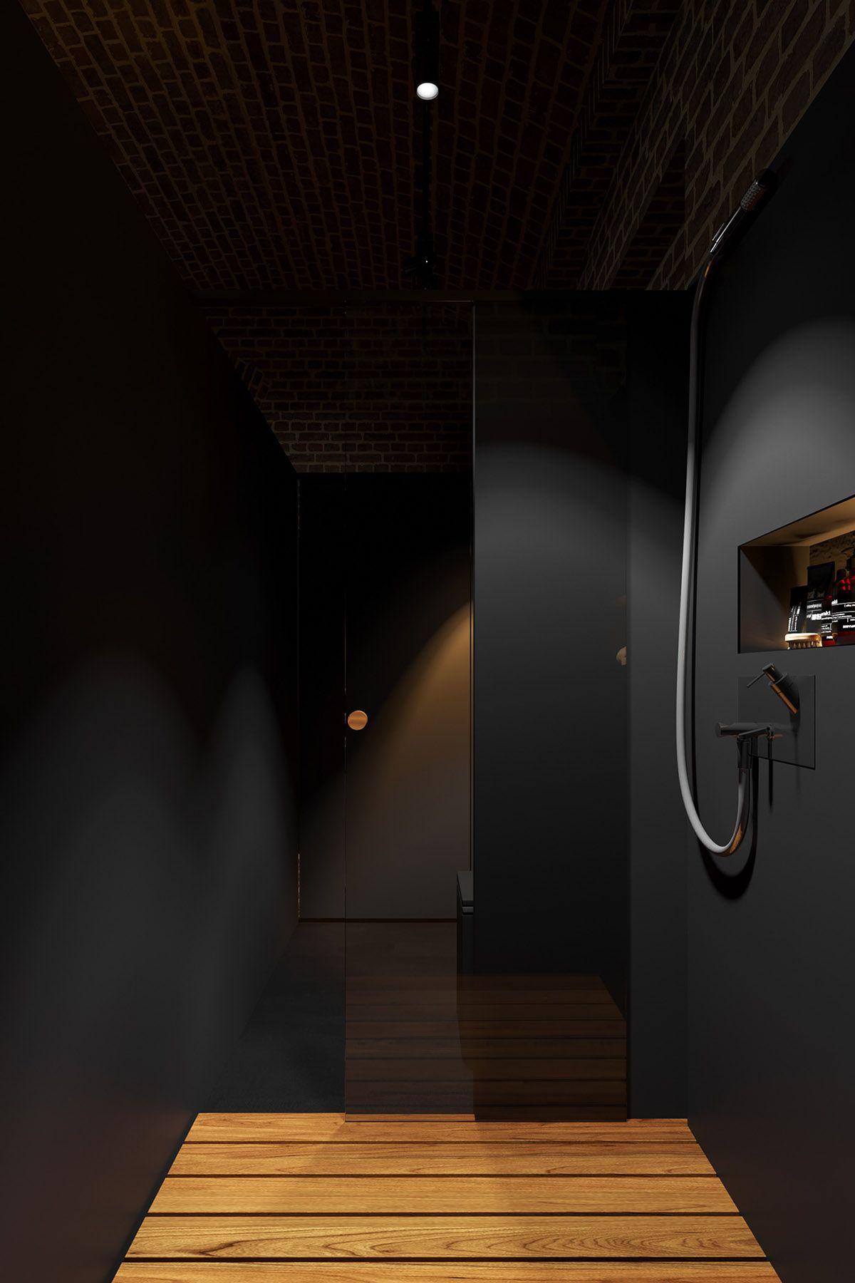 Bathroom interior hd modern dark interior design in   hd dark interior design