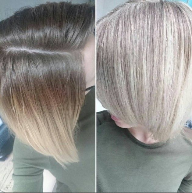 Blonde Bob Highlights Day Amp Night Hairdressers