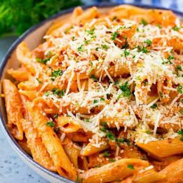 Spicy Arrabiata Penne #valeriebertinellirecipes