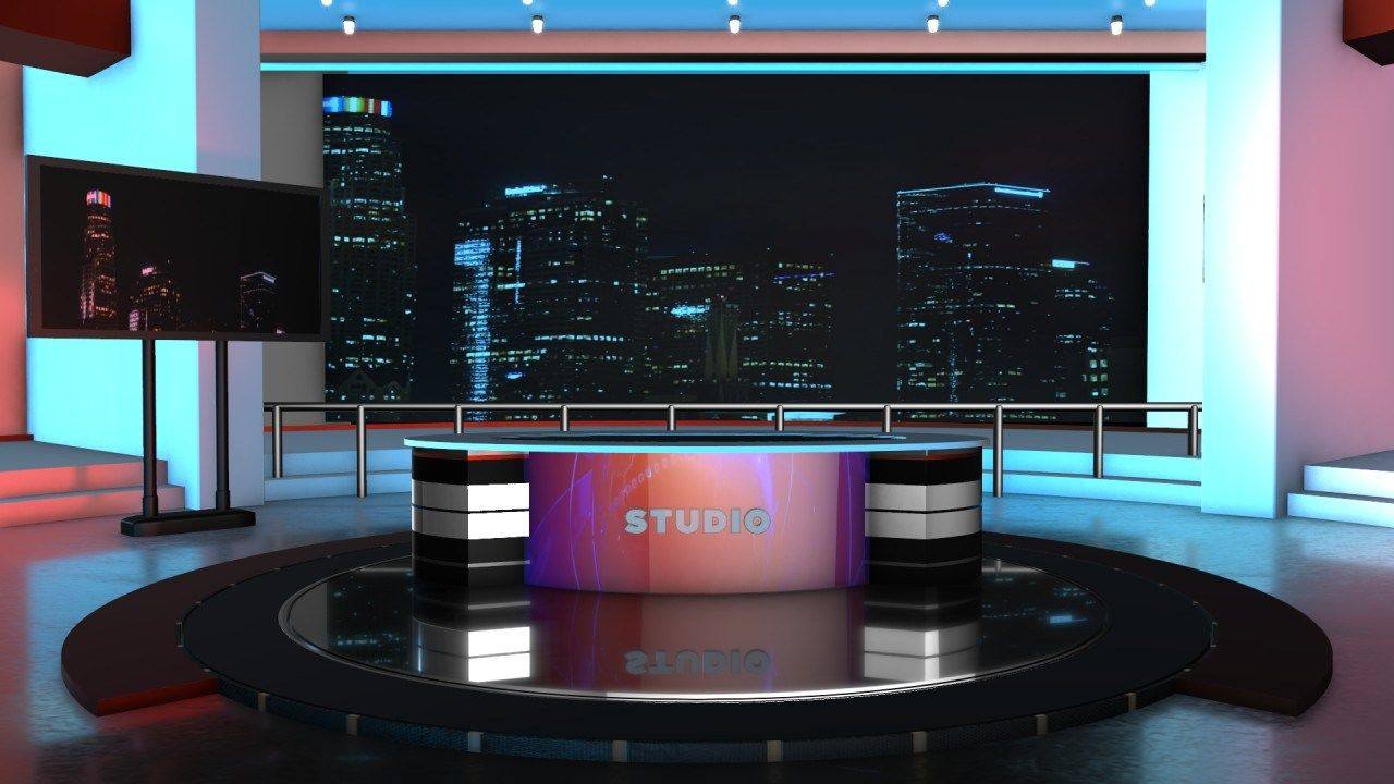 3D News Room 4k Images Free Download MTC TUTORIALS in