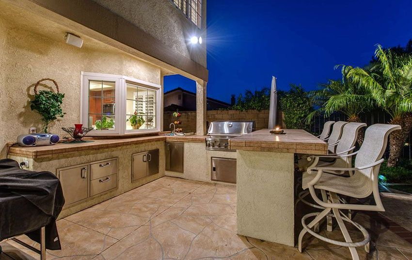 37 Outdoor Kitchen Ideas Designs Picture Gallery Outdoor Kitchen Design Kitchen Countertops Prices Outdoor Kitchen Bars