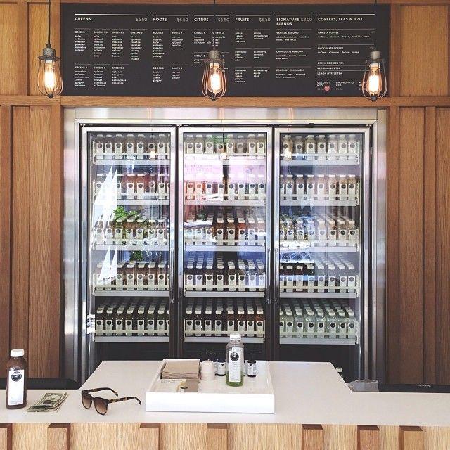 Pressed juicery santa monica store on main st pressed - Santa monica interior design firms ...