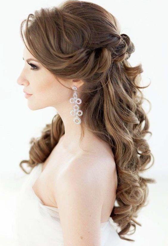 22 Most Stylish Wedding Hairstyles For Long Hair Wedding