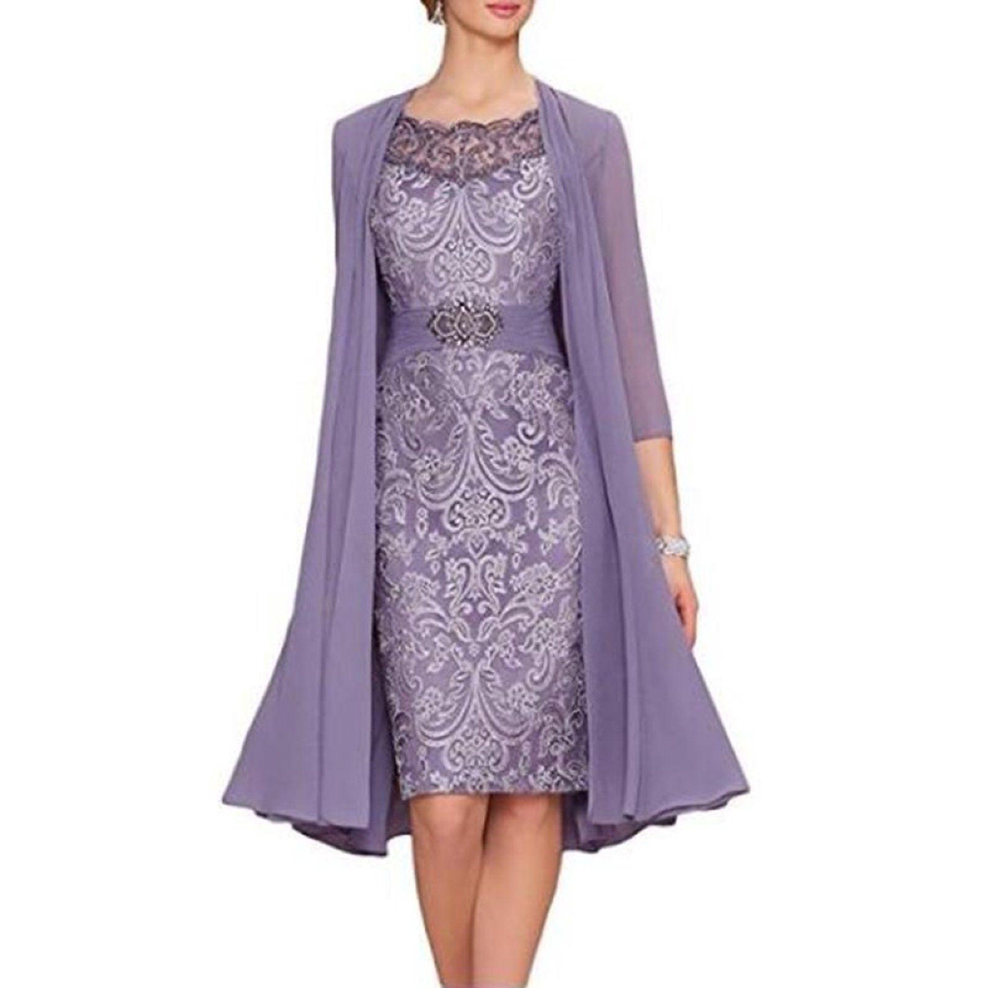 Sysea Plus Size Knee Length Women Lace Dress Walmart Com Walmart Com Bride Clothes Women Lace Dress Mothers Dresses [ 2000 x 2000 Pixel ]