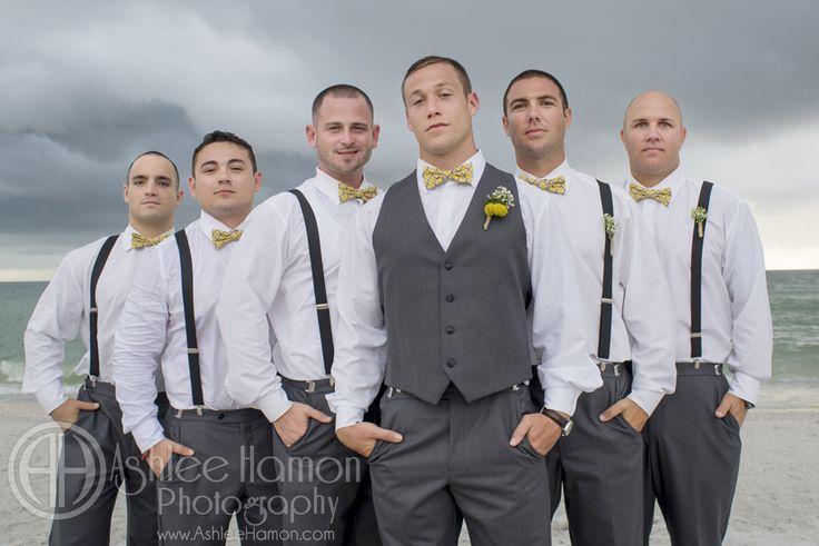 yellow and grey beach wedding - Google Search | Wedding ideas ...
