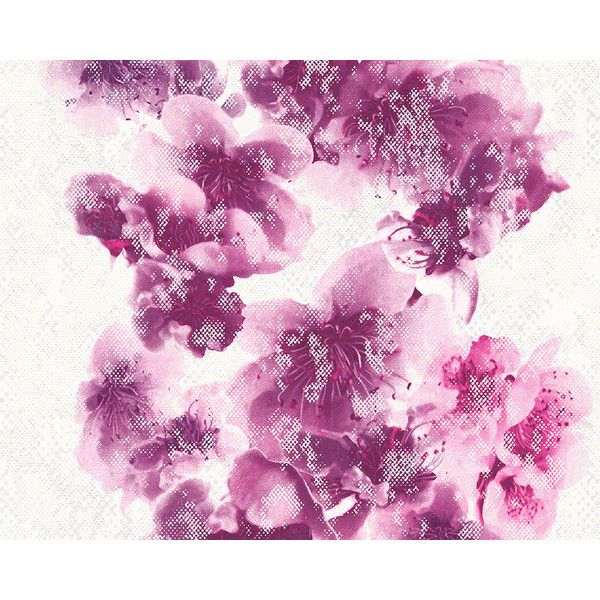 Floral Trail Wallpaper in Purple and White design by BD Wall (€47) ❤ liked on Polyvore featuring home, home decor, wallpaper, backgrounds, purple floral wallpaper, flower pattern wallpaper, floral pattern wallpaper, modern floral wallpaper and white wallpaper