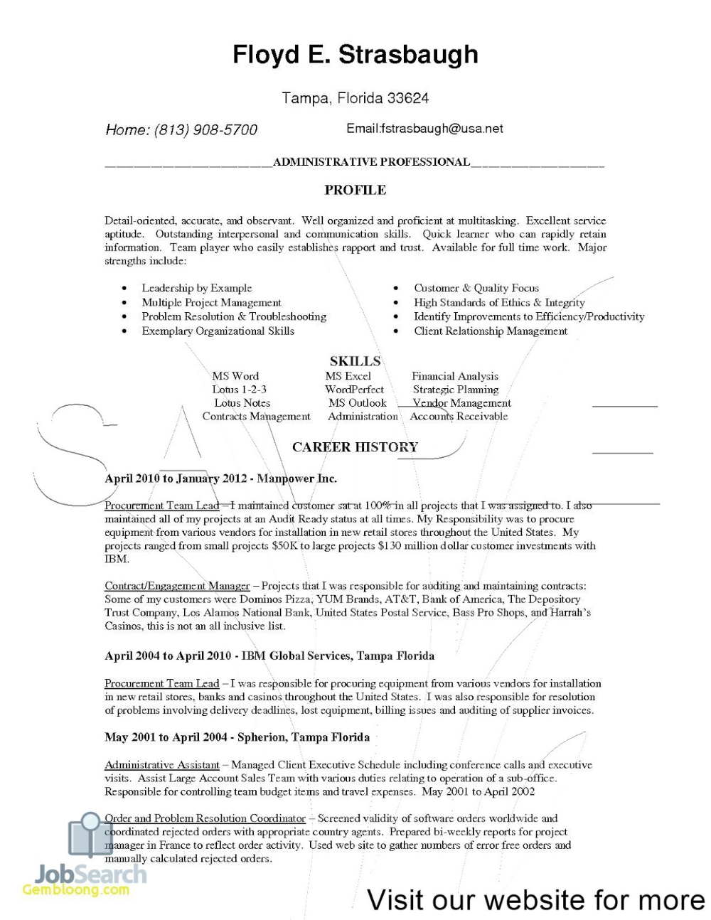Certified Professional Resume Writers Association In 2020