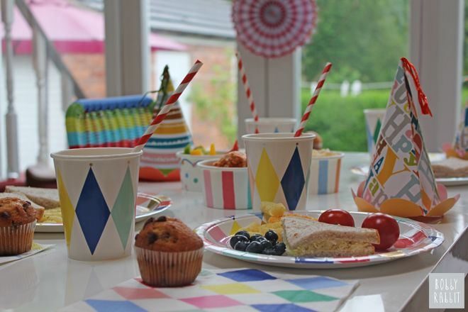 First Birthday Party by Bobby Rabbit featuring u0027Toot Sweetu0027 party tableware and decorations & First Birthday Party by Bobby Rabbit featuring u0027Toot Sweetu0027 party ...