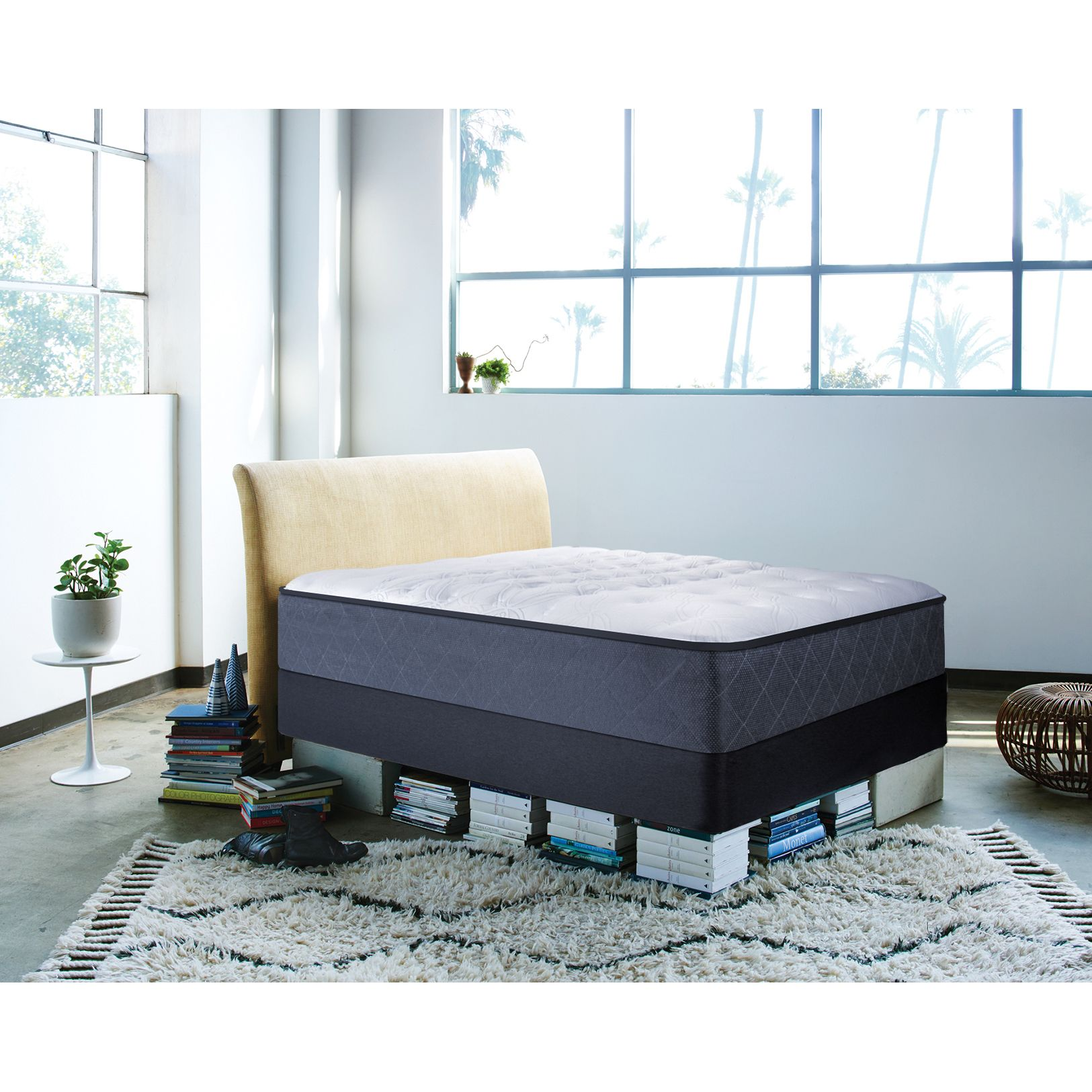 sealy posturepedic happy canyon plush california king size mattress