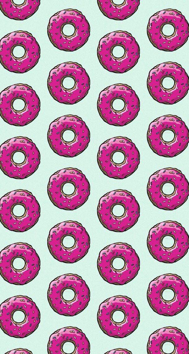 Background Cool Cute Donuts Girl Hey Iphone Omg
