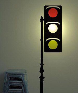 Wallstickerlamp Traffic Light Wall Sticker Lamp Zulily Wall Sticker Traffic Light Wall Lights