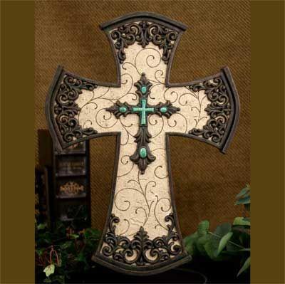 Attractive Decorative Wall Cross.