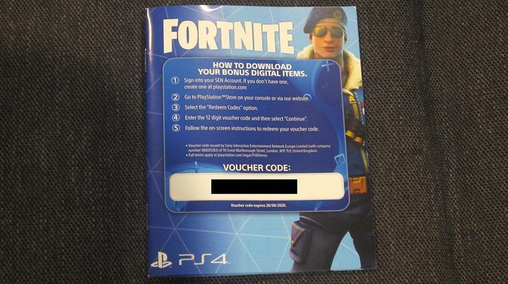 Redeem code for fortnite save the world ps4 | FORTNITE SAVE THE