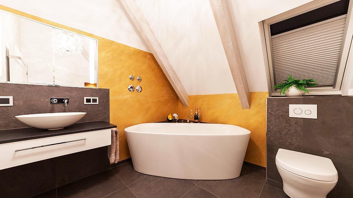 Heimwohl Badezimmer Waschtisch Mit Aufsatzwaschbecken Badezimmer Freistehende Badewanne