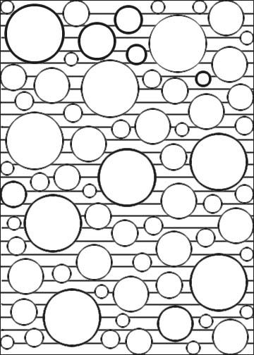 Geometric Coloring Pages Geometric Circle Coloring Pages