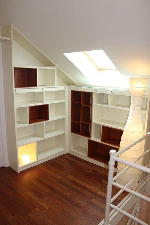 Sous pentes sous escaliers - Plak\u0027art, mobilier, placard - porte de placard sous escalier