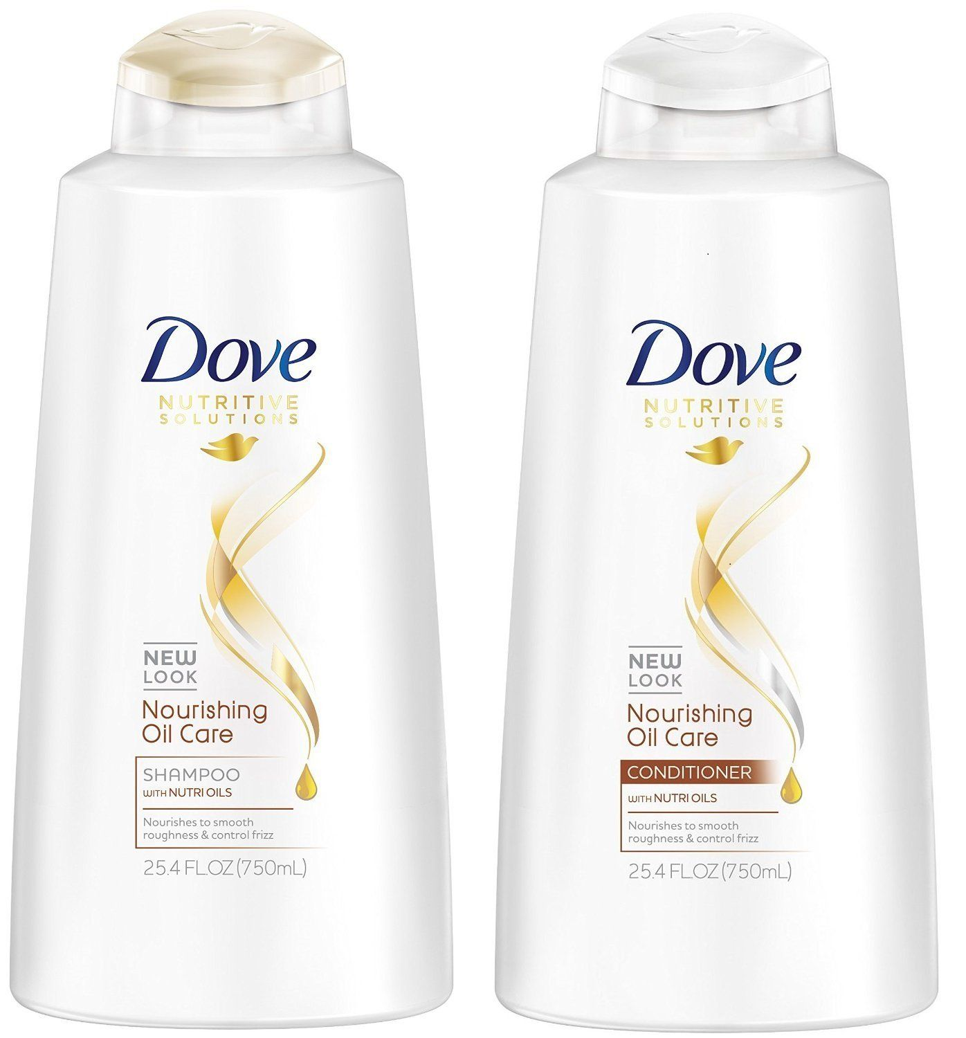 Dove Nourishing Oil Care Shampoo And Conditioner 25 4 Fl Oz Each Check This Awesome Product By Going Shampoo Shampoo And Conditioner Anti Frizz Products