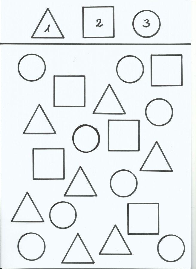 Formen unterscheiden von tinasblumenwiese | material didáctico 2 ...