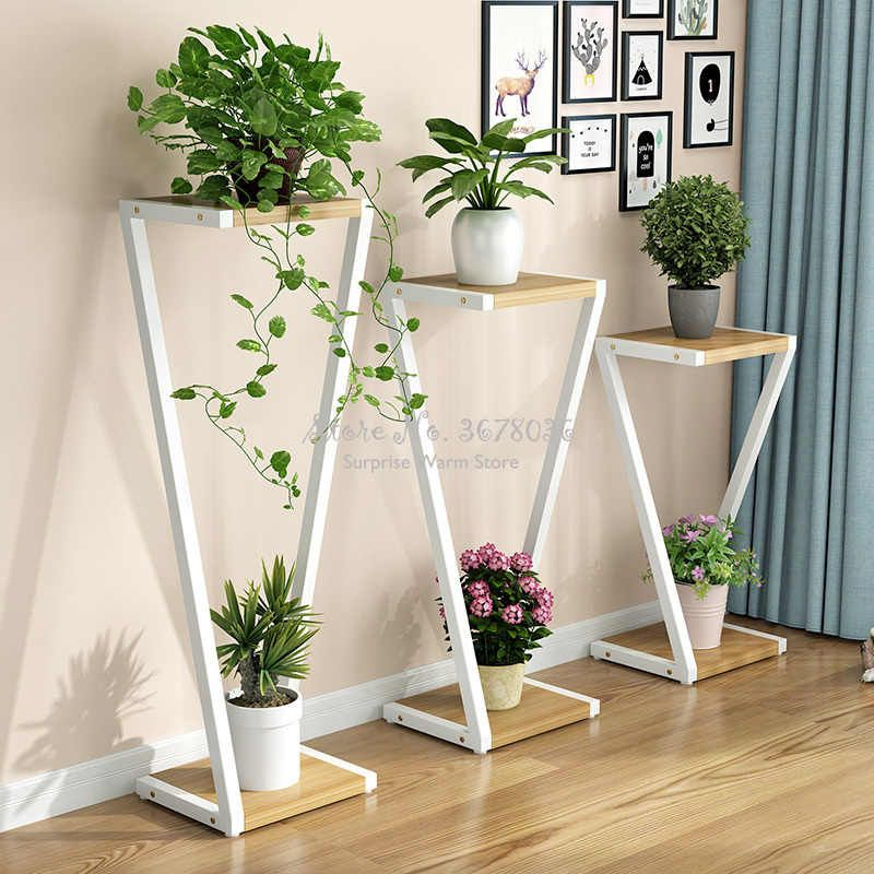 1pcs Creative Multi Layer Flower Stand Living Room Indoor Home Nordic Flower Stand Iron Flower Shelves Bonsai Display Shelf Aliexpress In 2020 Plant Decor Indoor Living Room Plants Decor