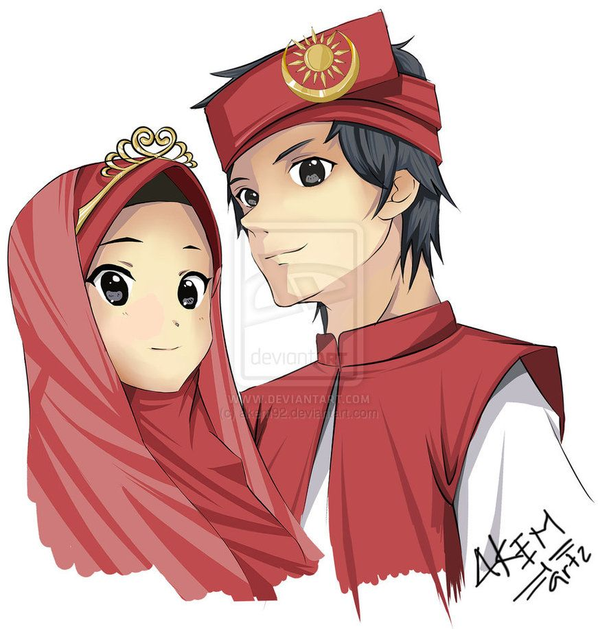 Arab anime couple cartoon cartoon pics girl cartoon manga couple wedding