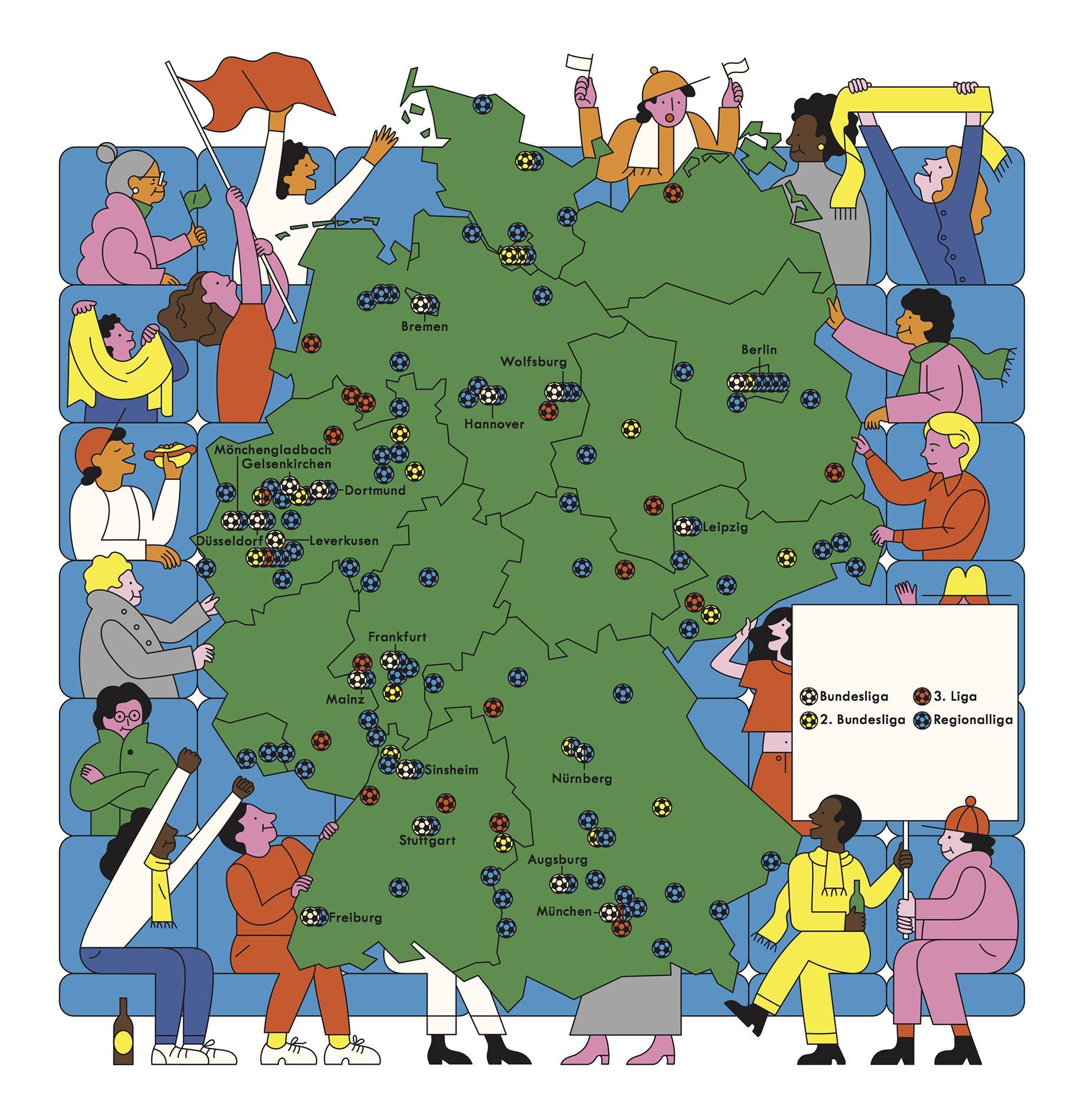 04 Deutschlandkarte Fussballstadien Zelda Characters